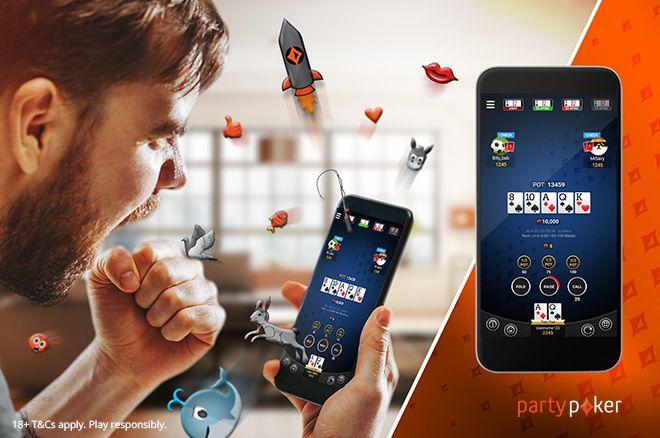 PartyPoker на мобильном