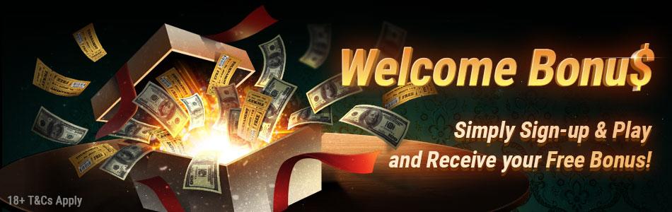 Приветственный бонус для новых игроков PokerOK